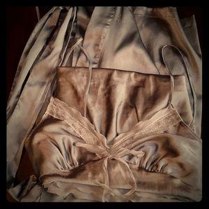 Victorias Secret Silk Pajama Set